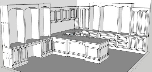 sketchup model of office